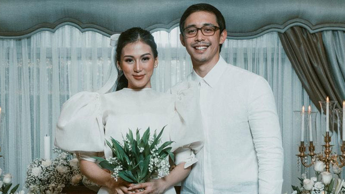 Alex Gonzaga, Mikee Morada, wedding