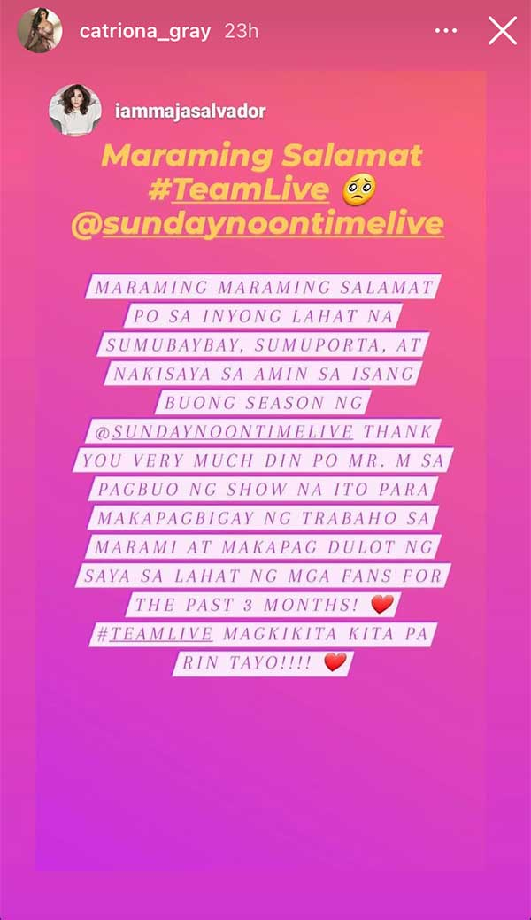 Sunday Noontime Live