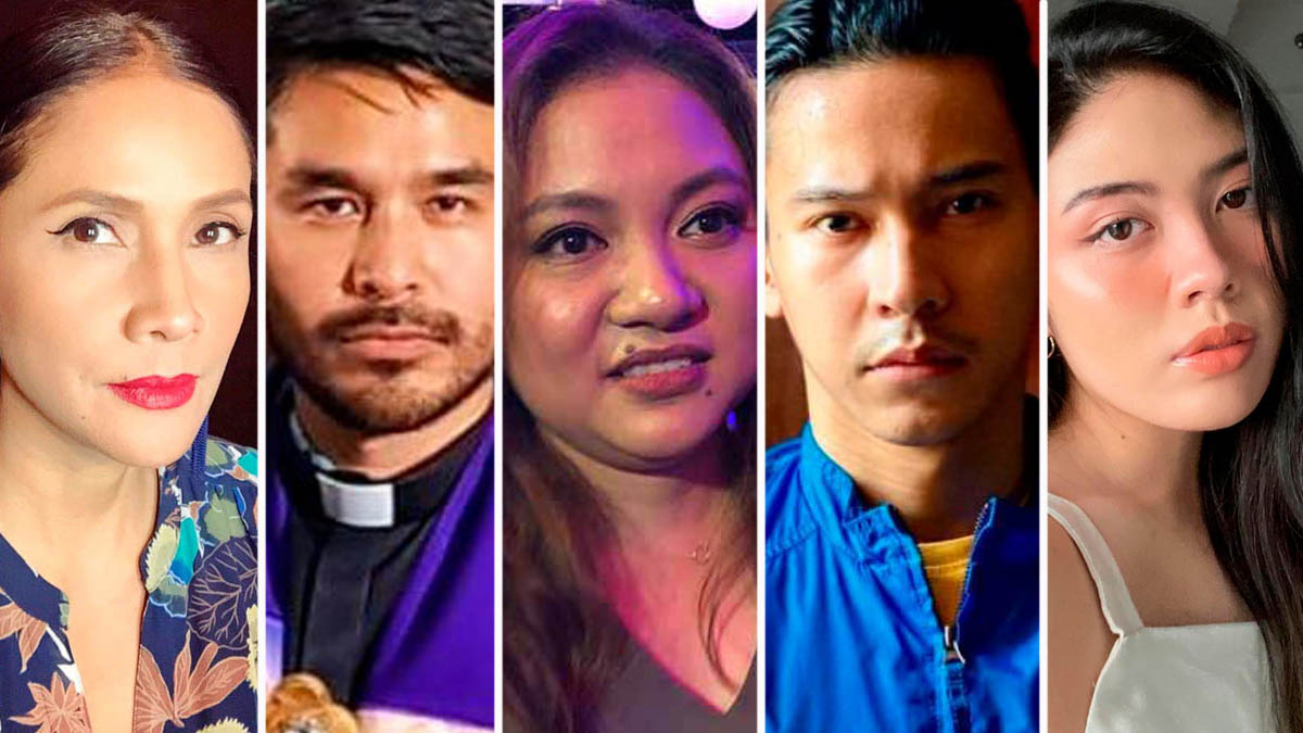 Agot Isidro, Atom Araullo, Antonette Jadaone, Enchong Dee, Frankie Pangilinan, UP-DND pact abrogation