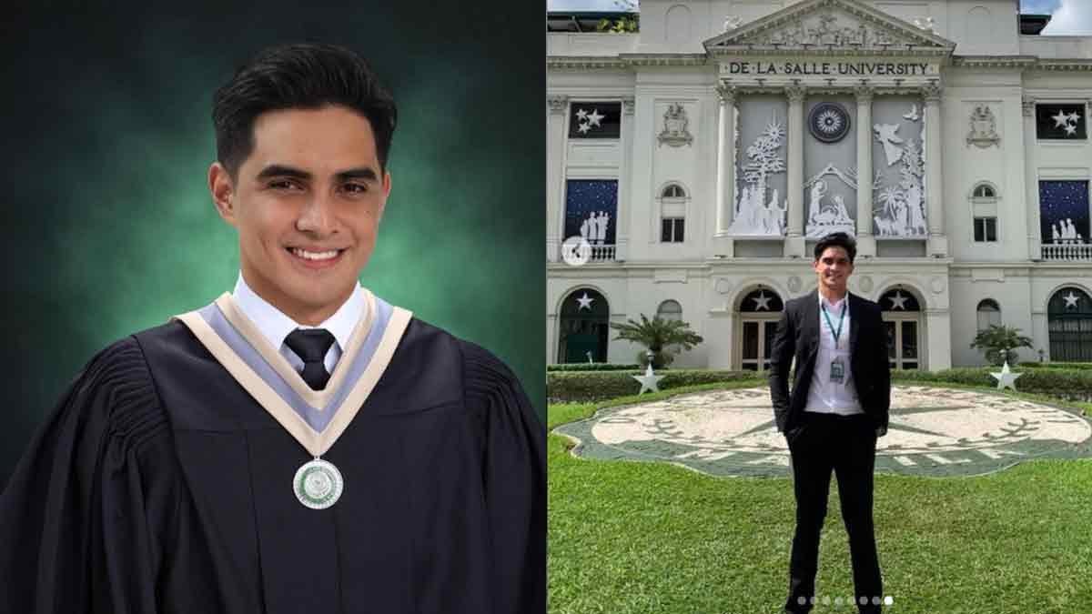 Juancho Trivano College Graduate