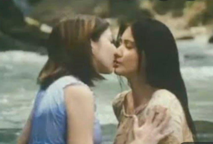 maui taylor and rica peralejo kissing scene