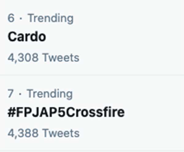 Cardo Alyana trending