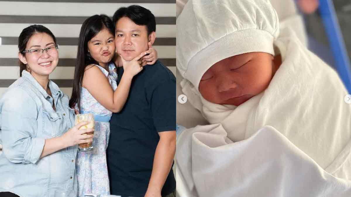 Iwa Moto Gives Birth to Son CJ Lacson
