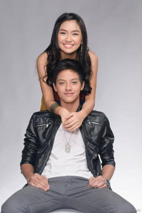 KathNiel in Growing Up