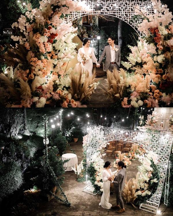 Lovely Abella and benj manalo wedding