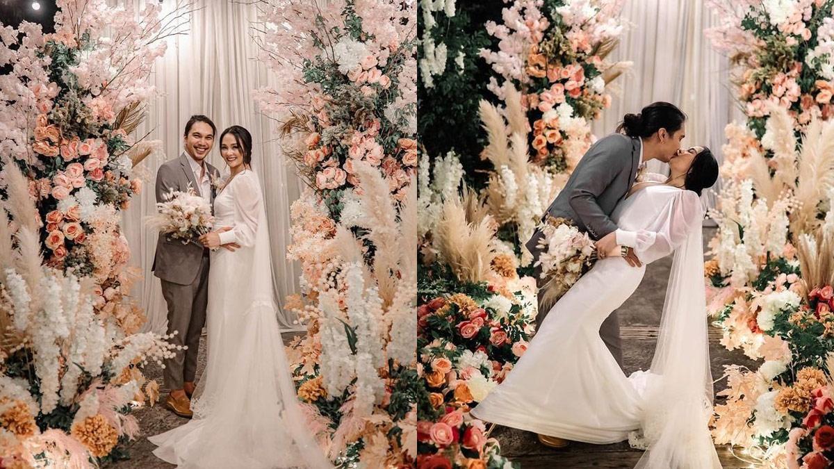 Lovely Abella Benj Manalo wedding