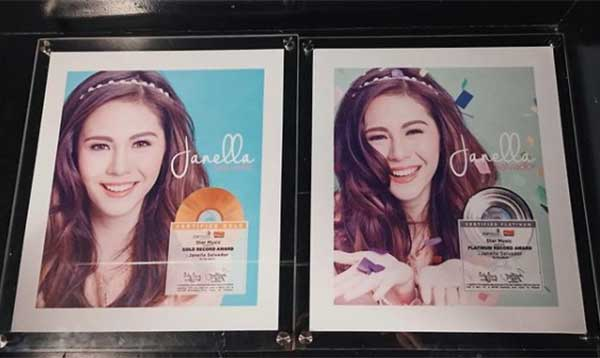 Janella Salvador's self-titled album