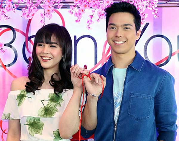 Janella Salvador and Elmo Magalona in Born For You