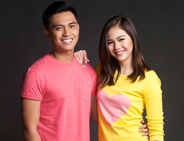 The MarNella love team of Marlo Mortel and Janella Salvador