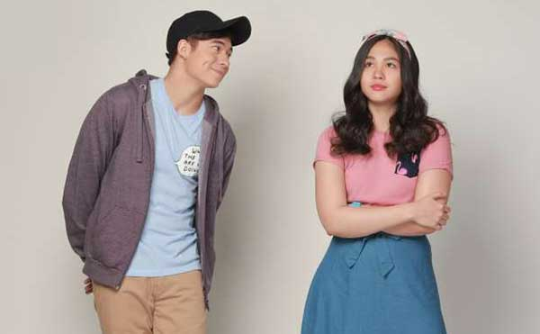Jameson Blake and Janella Salvador in the movie So Connected.