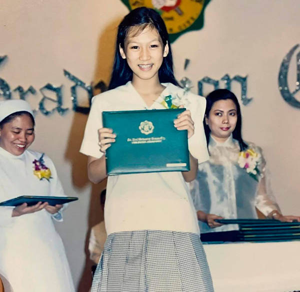 Alex Gonzaga high school graduation