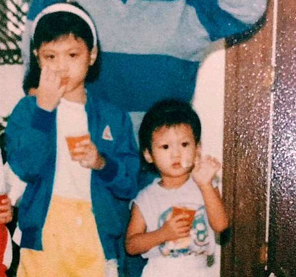 childhood photos of Toni Gonzaga and Alex Gonzaga
