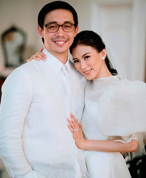 Mikee Morada and Alex Gonzaga wedding