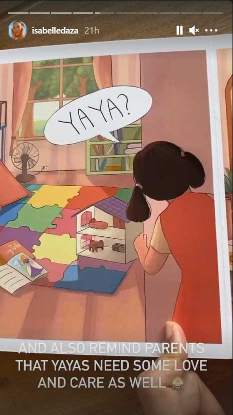 images from the children's book reminding parent that house helpers need love too