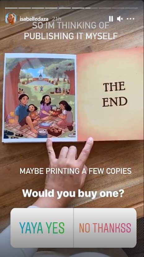 Isabelle Daza children book for Yaya Luning