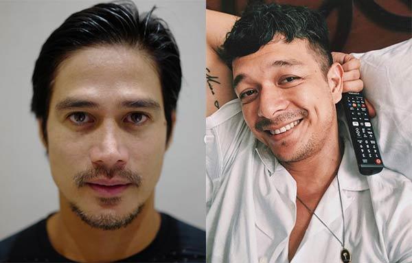 Star Magic celebrities Piolo Pascual, Jericho Rosales