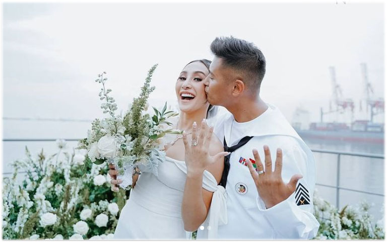 rocco nacino and melissa gohing wedding photo