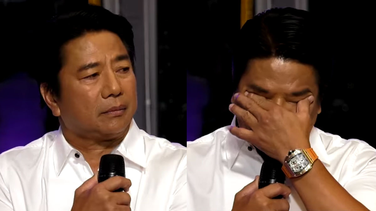 willie revillame crying