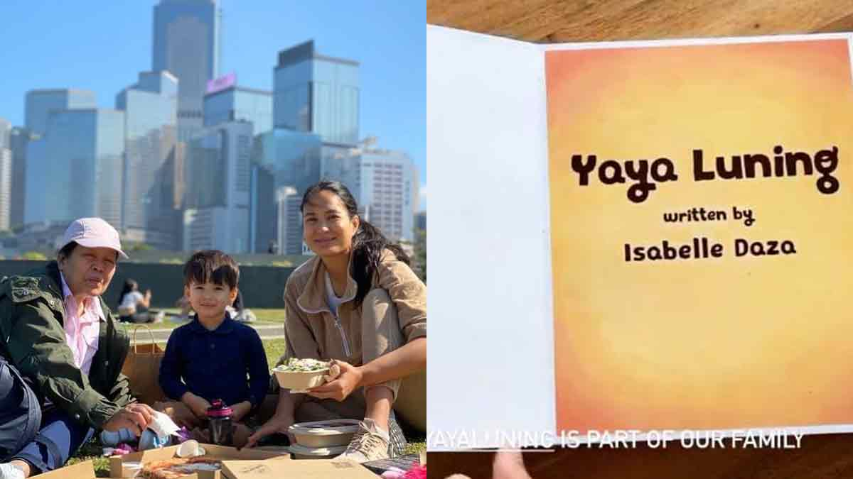 Isabelle Daza Yaya Luning Children's Book