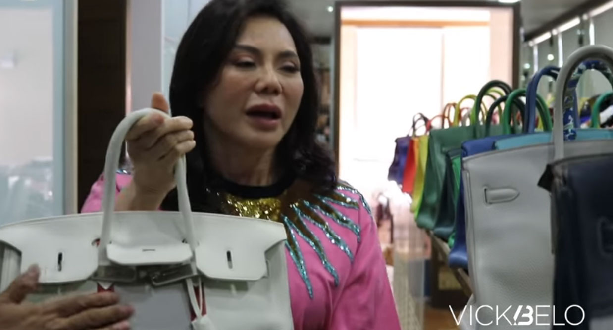 youtube screengrab: Vicki Belo Birkin