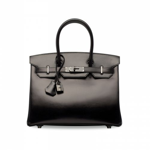 Hermes So Black Birkin
