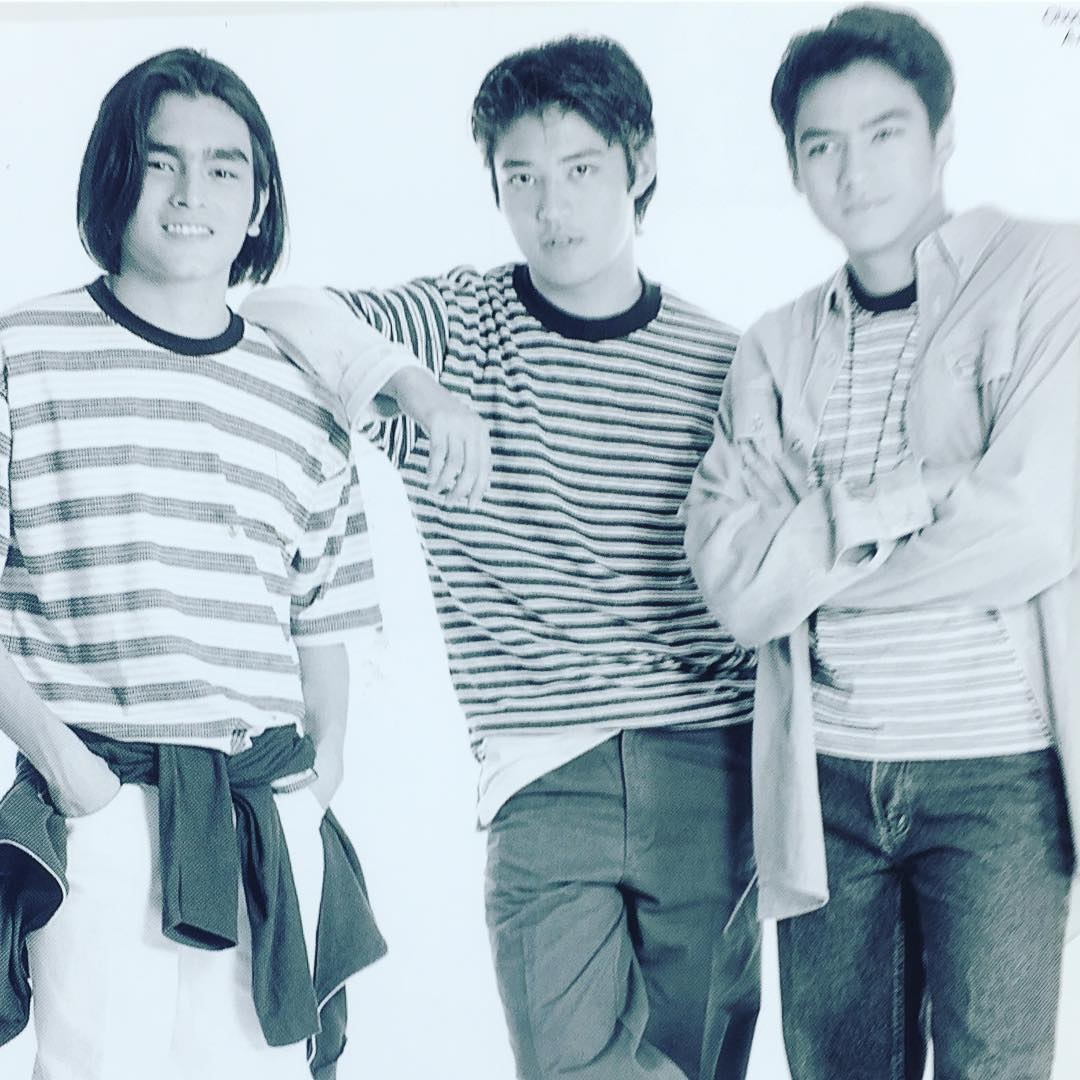 jomari, mark anthony, eric in gwapings