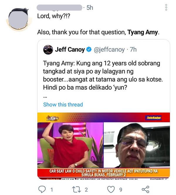 twitter: netizen commends amy perez