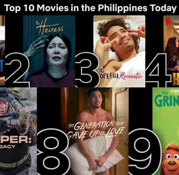 netflix top 10 movies in PH