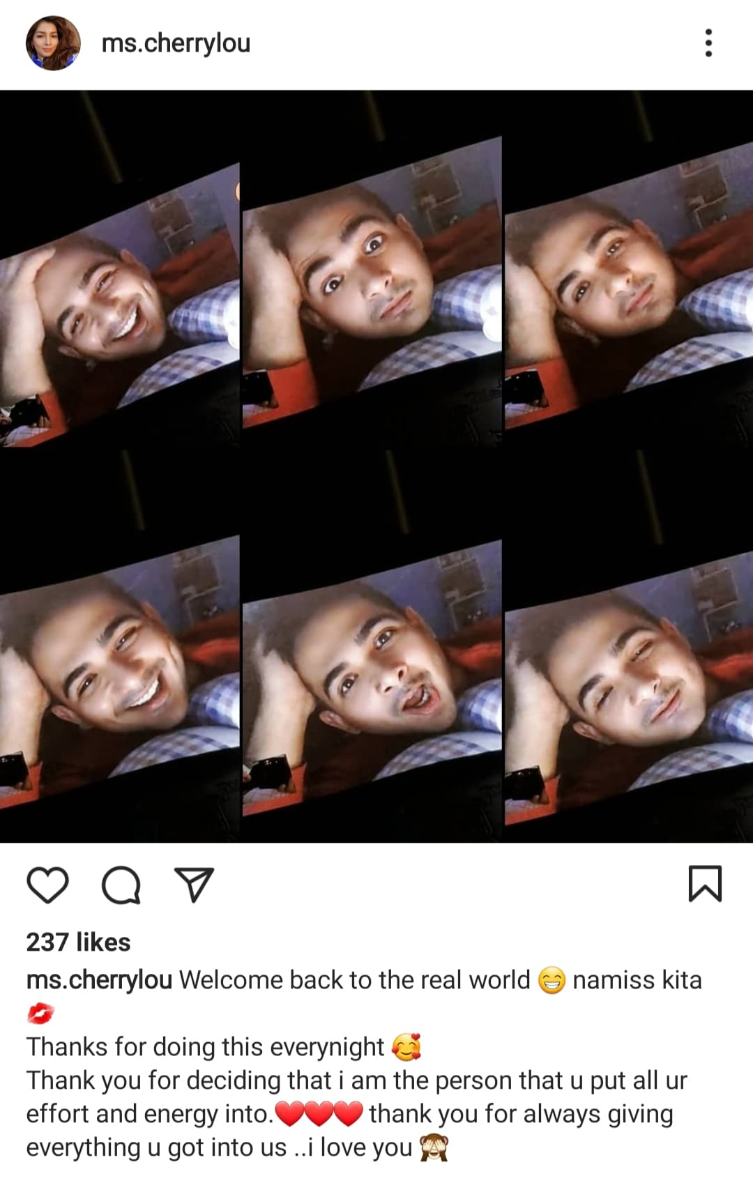 instagram photo: cherry lou post phytos selfies
