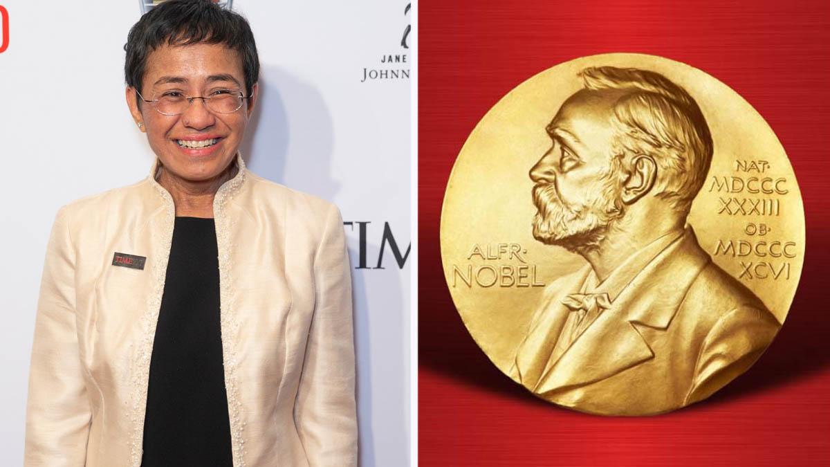 Maria Ressa Nobel Prize medal