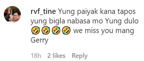 netizens found regine joke funny