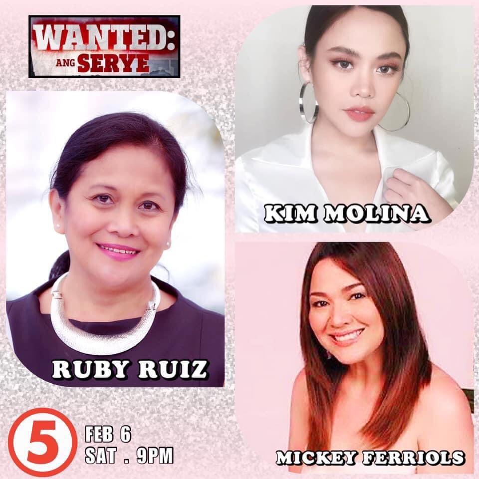 Ruby Ruiz as Magdalena in Wanted: Ang Serye
