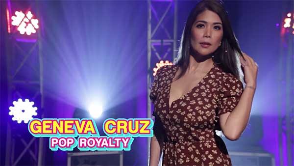 Your Face Sounds Familiar celebrity finalist Geneva Cruz