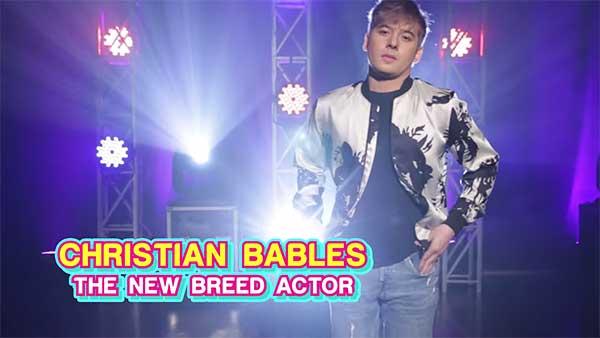 Your Face Sounds Familiar celebrity finalist Christian Bables