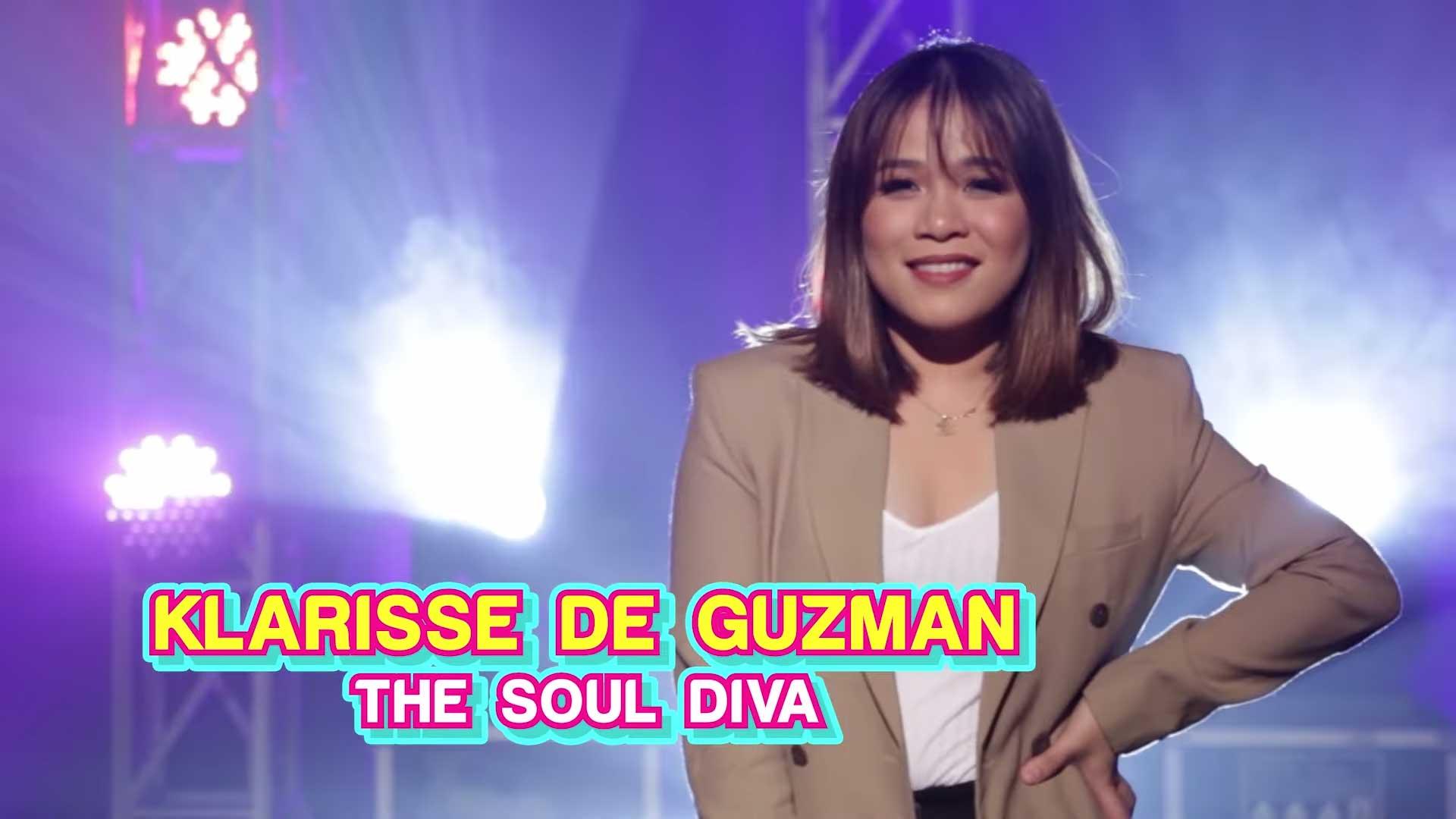 Your Face Sounds Familiar celebrity finalist Klarisse de Guzman