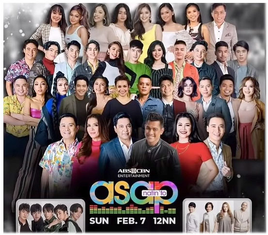 sarah geronimo not included in ASAP promotional material