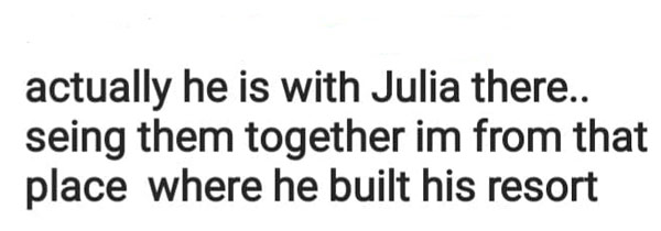 netizen claims gerald was with julia