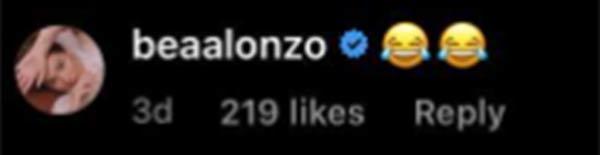 bea alonzo reacts to sarah geronimo being kumander, boss of matteo guidicelli