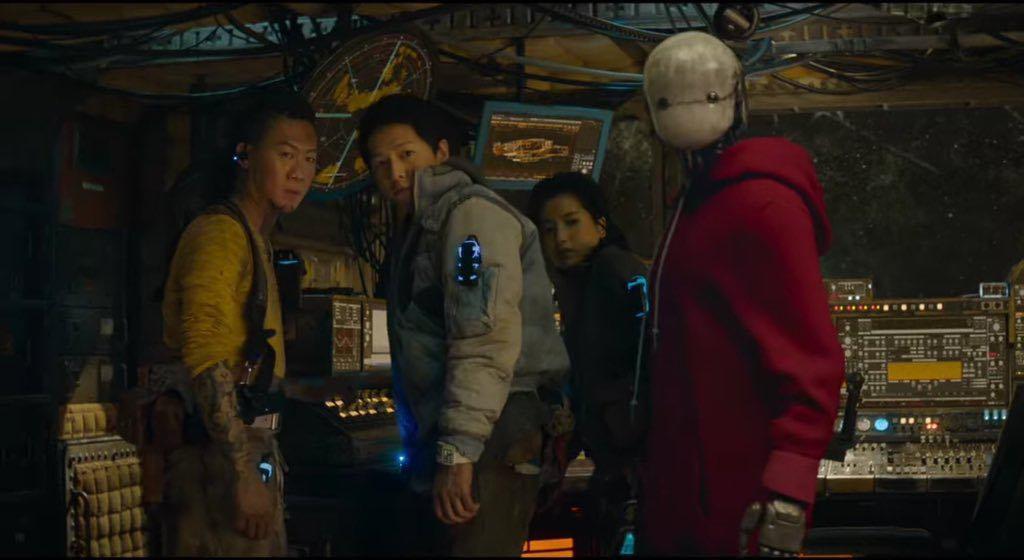 song joongki in space sweepers