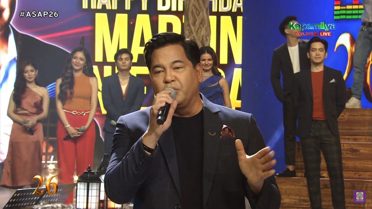 Martin Nievera in ASAP Natin To anniversary