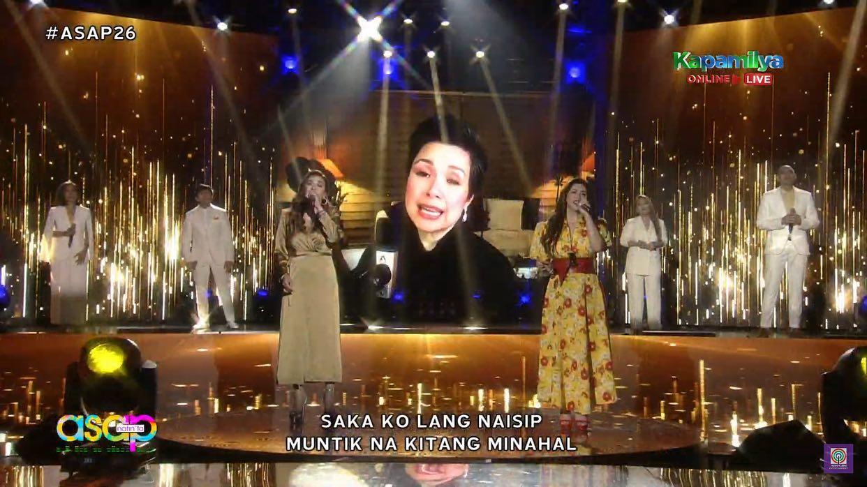 Zsa Zsa Padilla, Regine Velasquez, Lea Salonga song number in ASAP Natin To anniversary special