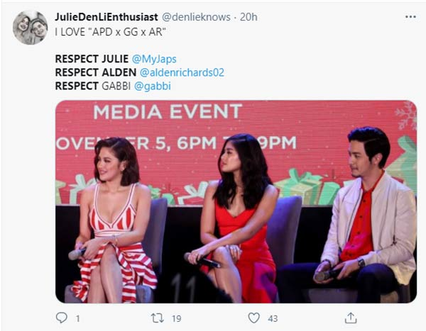 fans call to respect gabbi, alden, julie anne
