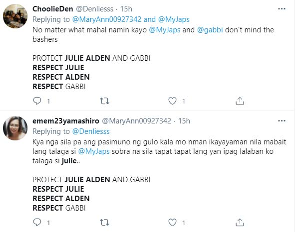 respect julie trends on twitter