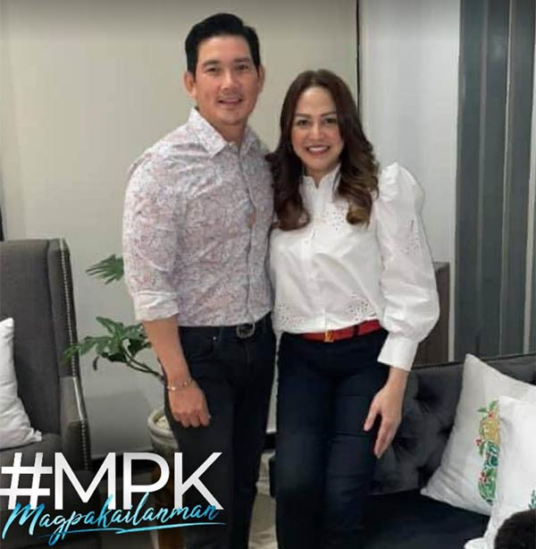 David Licauco, Shaira Diaz as Richard Yap and wife Melody in Magpakailanman