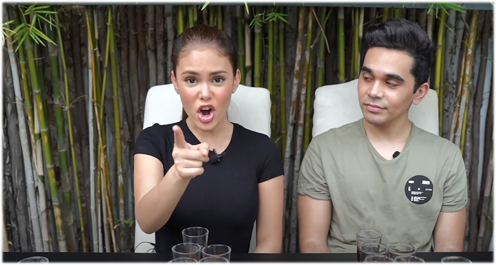 ivana alawi mimics how abs-cbn tv host scolded her