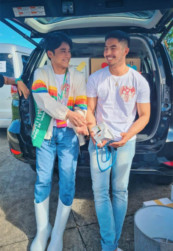jc alcantara and tony labrusca in Hello Stranger The Movie