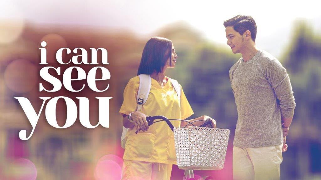 Alden Richards, Jasmine Curtis-Smith in I Can See You: Love On The Balcony