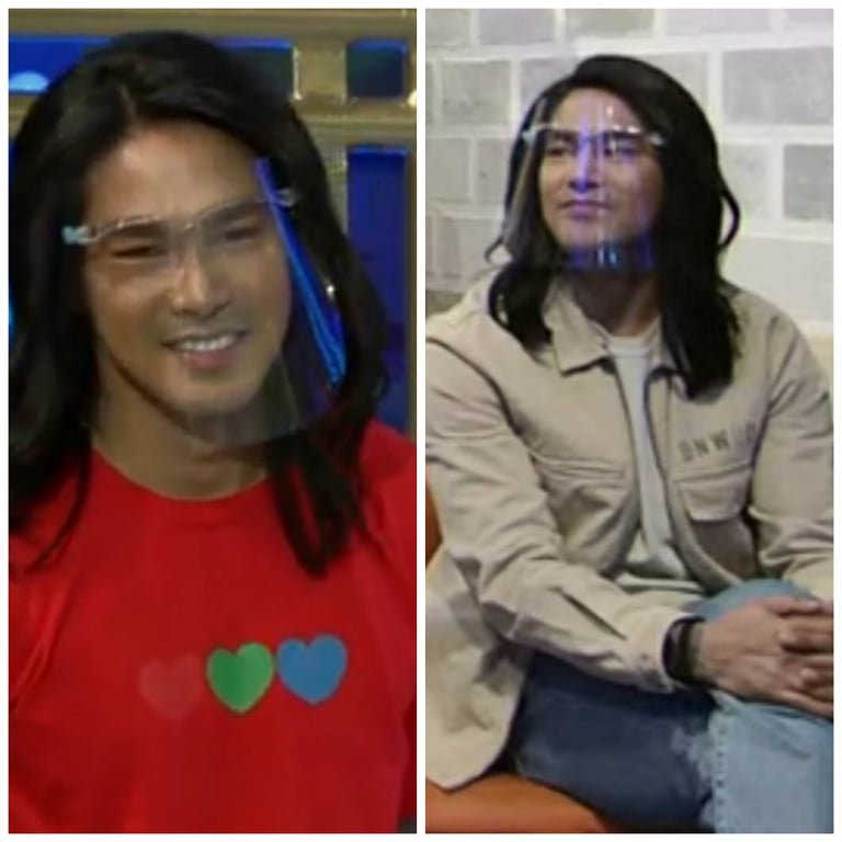 long-haired ion perez in It's Showtime