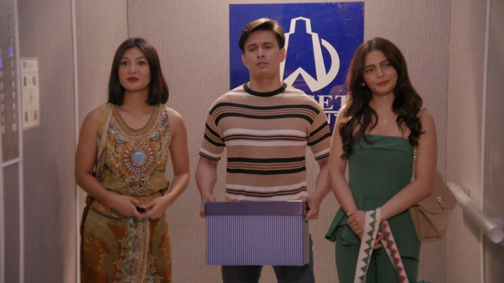 Winwyn Marquez, Tom Rodriguez, and Lovi Poe in I Can See You: High Rise Lovers