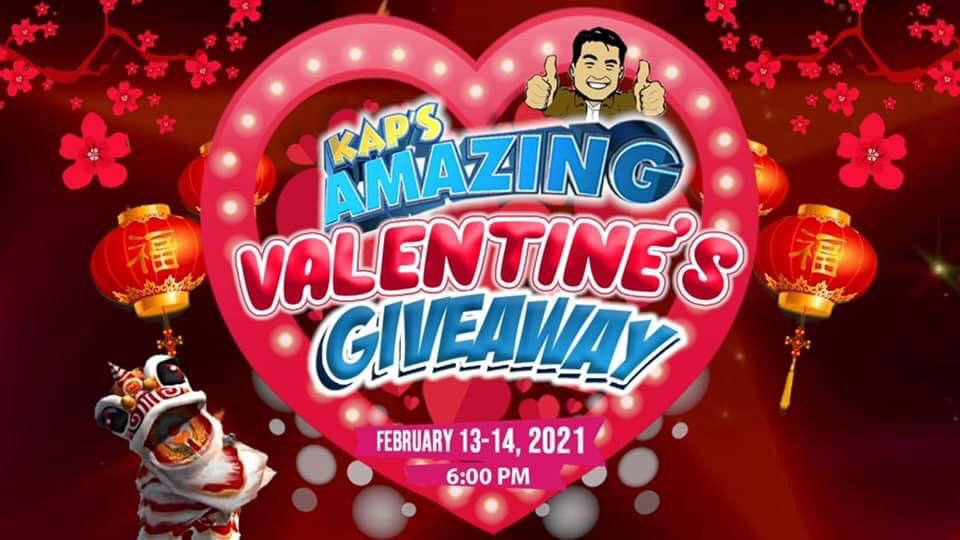 Kap's Amazing Valentine Giveaway